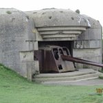 One of the better preserved bunkers with intact cannon