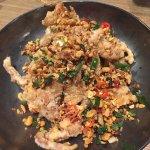 Soft shell crab with chilli, garlic
