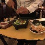 Guacamole made tableside