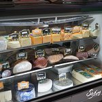 Cheeses and meats at our Deli- our selection is unique in Bocas