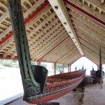 Ceremonial War Canoe at Waitangi Treaty Ground.