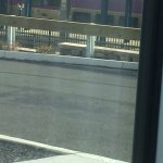 View out my window, with train about 50 yards away