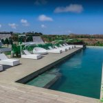 Our Infinity Pool at Rapture Bali Cliff