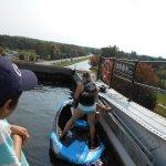 Sitting in bassin 20 m high