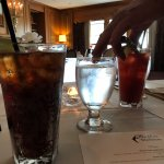 Caesar, diet coke, and fingers diving into water? Butlers at the Mansion, 292 Crescent Rd E, Qua