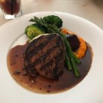 Filet Mignon, Butlers at the Mansion, 292 Crescent Rd E, Qualicum Beach, BC