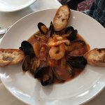 Seafood Bouillabaisse, Butlers at the Mansion, 292 Crescent Rd E, Qualicum Beach, BC