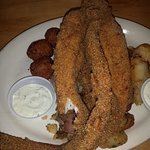 Whole Fried Catfish!