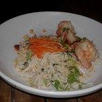 Vietnamese shrimp and rice noodles