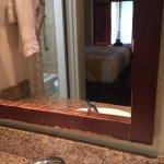 Mirror over sink