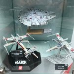 Nice display of iconic Star Wars spacecraft