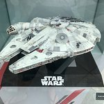 """And this is a lovely """"standard-size"""" Millennium Falcon model"""