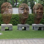 Sculptures at Grande Provence winery