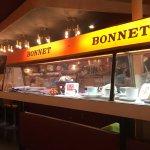 ボンネットの写真