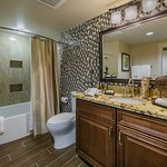 Private Signature bathroom with luxurious amenities