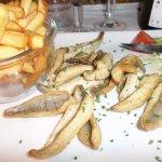 Assiette de filets de perche