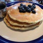 Blueberry pancakes!