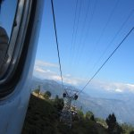 View From Ropeway Cabin