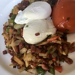 Hash and eggs... delicious
