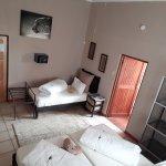 Cheetah Room - standard triple with en-suite bathroom