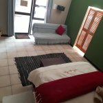 Lion Room - standard double with en-suite bathroom and air-con