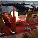 Mocktails at sunset :)