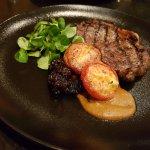 main - rib-eye steak