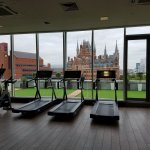 King's Cross view from the gym