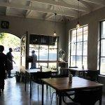 Cool coffee shop