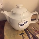Teapot in the room- nice touch!