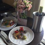 Nice touch upon arrival to our room