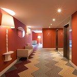 Funky Floor Foyer