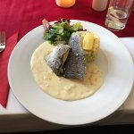 Very good lunch as always. I like these seasonal meals in the Slavia Restaurant.