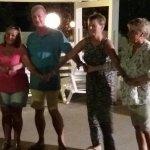 Great fun at the Greek Night BBQ