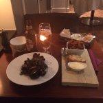Fin middag på Grand Hotels Barv& Restaurang