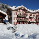 Hotel du Pillon en hiver
