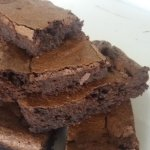very chocolatey brownies