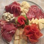 Meat & Cheese Antipasto.