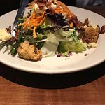 House Salad with Cornbread Croutons