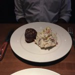 8 oz Filet Mignon and Mashed Potatoes