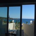 Zimmeraussicht und Balkon