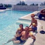 Pineapple Daiquiris @ rooftop pool