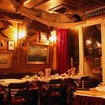"""""""An Deck der MS Deichgraf"""" - Abends in unserem Restaurant"""