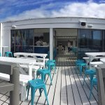 Our open Deck with a view to die for!