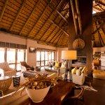 Lodge interior.