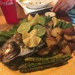 The whole fish! Pompano
