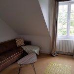 Sofa in the suite