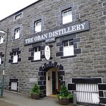 Outside the distillery