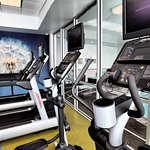 Fitness Center at the SpringHill Suites by Marriott Lake Charles