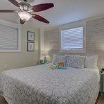 Nook bedroom, king bed Serta Icomfort memory foam/gel bed